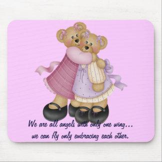 Amigos 2 del oso - somos todos los ángeles… alfombrillas de ratones