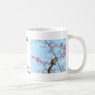 Amigos - amigos de la ardilla y del pájaro que taza de café