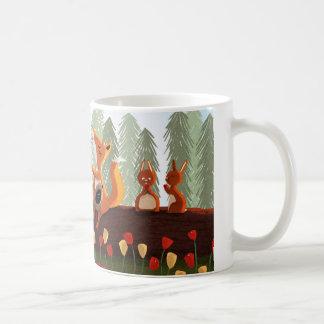 """Amigos animales del bosque - """"Snacktime """" Tazas"""