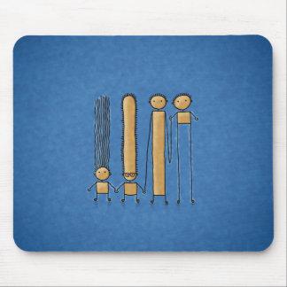 Amigos (color 2) mousepads
