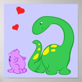 Amigos de Dino Impresiones