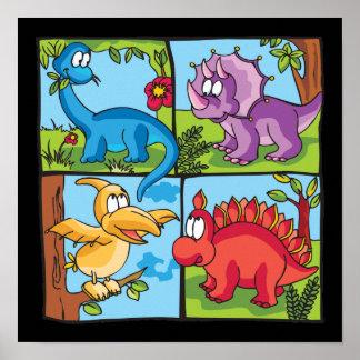 Amigos de Dino Póster