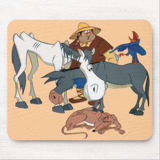 AMIGOS DE DON QUIJOTE - 400 Años - Cervantes Mouse Pad