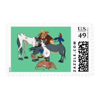 AMIGOS DE DON QUIJOTE - 400 Años - sellos Postage