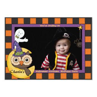 Amigos de Halloween - invitación de la foto
