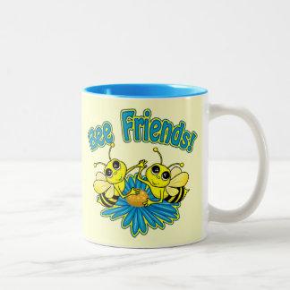 Amigos de la abeja tazas de café