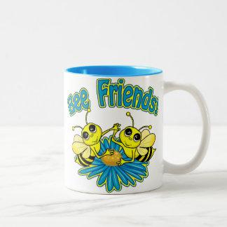 Amigos de la abeja tazas