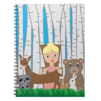 Amigos de la madre naturaleza y del animal cuaderno