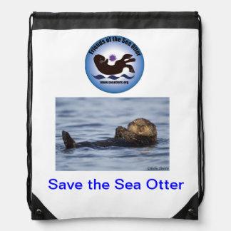 Amigos de la mochila #2 de la nutria de mar