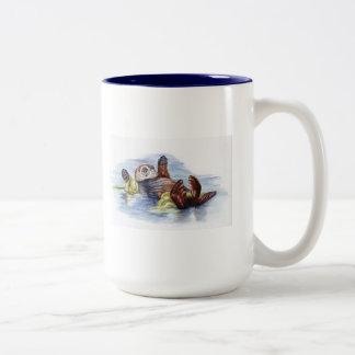 Amigos de la taza #2 de la nutria de mar
