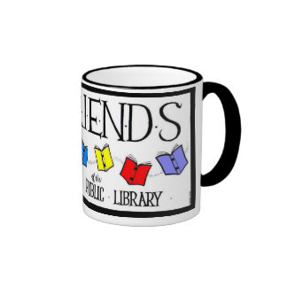 Amigos de la taza de la biblioteca pública de Rahw