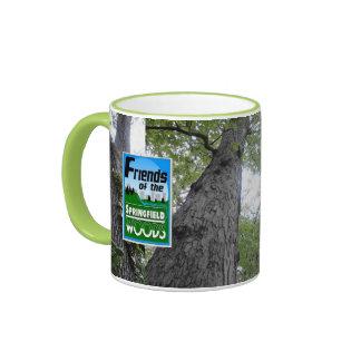 Amigos de los árboles 001 de maderas de taza de dos colores