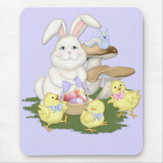 Amigos de Pascua Tapetes De Ratón