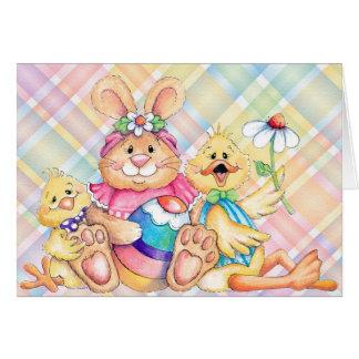 Amigos de Pascua - tarjeta de felicitación
