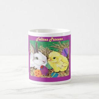 Amigos de Pascua taza (Easter Friends mug) Coffee Mug