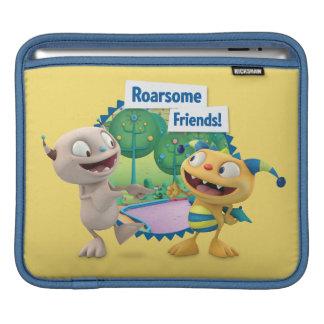 ¡Amigos de Roarsome! Fundas Para iPads