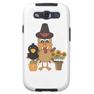 Amigos de Turquía de la acción de gracias Galaxy S3 Protector