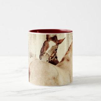 Amigos del caballo taza