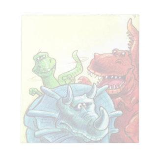 Amigos del dinosaurio bloc