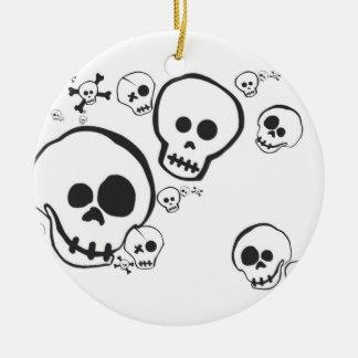 Amigos del esqueleto de Skully Skellies Ornamentos De Reyes