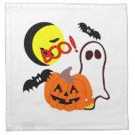 Amigos del fantasma de Halloween Servilleta De Papel