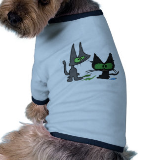 Amigos del gatito que se divierten ropa para mascota