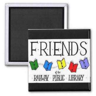 Amigos del imán de la biblioteca pública de Rahway