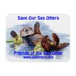 Amigos del imán de la nutria de mar