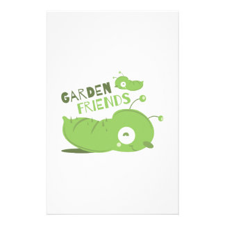 Amigos del jardín papeleria personalizada