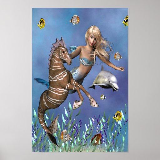 Amigos del mar póster