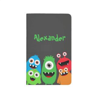 Amigos del monstruo cuaderno