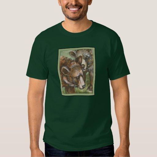 Amigos del oso grizzly playeras