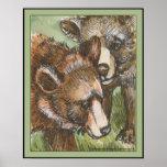 Amigos del oso grizzly poster