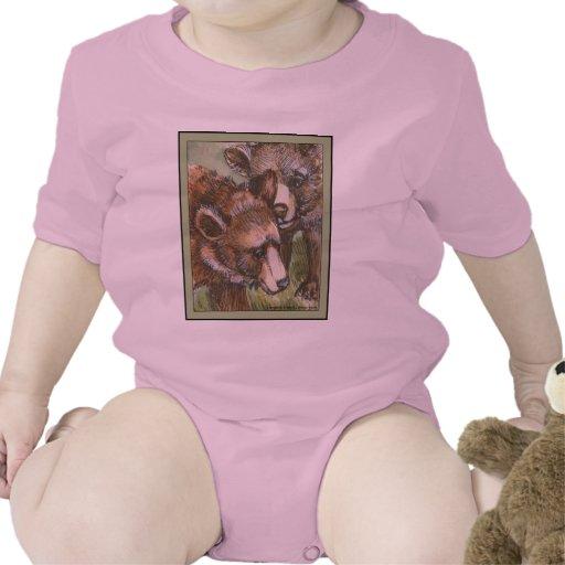 Amigos del oso grizzly trajes de bebé