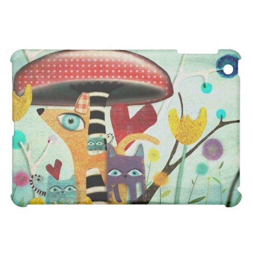 Amigos del país de las maravillas iPad mini carcasas