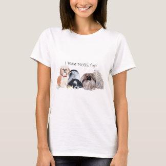 Amigos del perro de Pekingese Playera