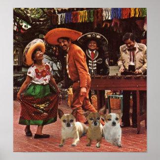 Amigos del poster 3 de las chihuahuas
