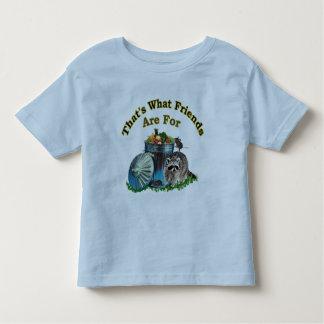 Amigos del Racoon Tshirt