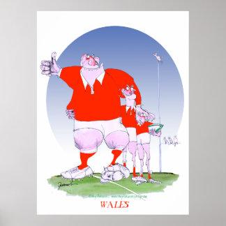 amigos del rugbi galés, fernandes tony póster