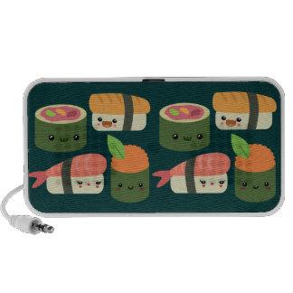 Amigos del sushi laptop altavoz