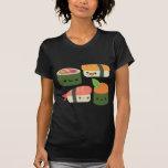 Amigos del sushi camisetas