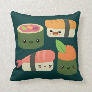 Amigos del sushi cojines