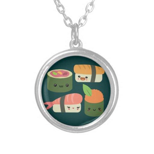 Amigos del sushi colgante redondo