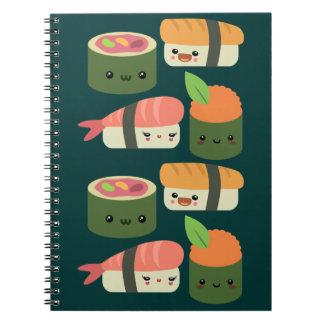 Amigos del sushi libreta espiral