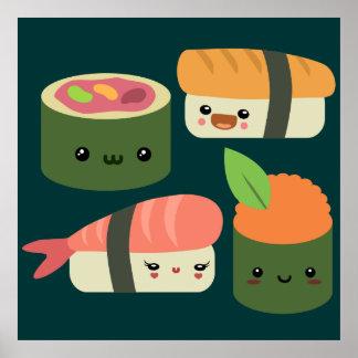 Amigos del sushi póster