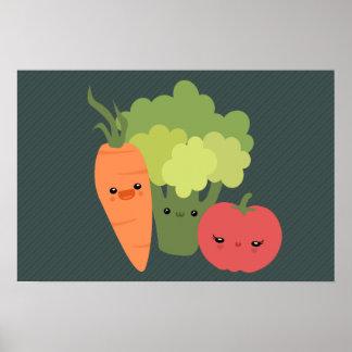 Amigos del Veggie Posters