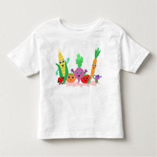 Amigos del Veggie para la camiseta de Todlers Playera