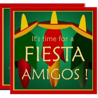 Amigos Fiesta Party Invitation