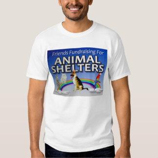 Amigos Fundraising para los refugios para animales Playeras