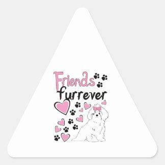 Amigos Furrever Pegatinas Trianguladas